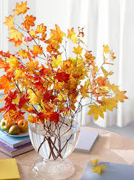centerpiece and tabletop decoration ideas for fall thanksgiving