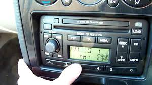 mondeo radio 6006e strip and repair youtube