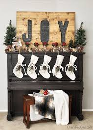 rustic woodland christmas mantel cherished bliss