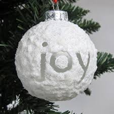 sparkling snowball ornament allfreechristmascrafts
