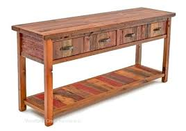 sofa tables old wood sofa table cottage sofa table in antique