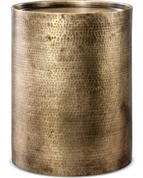 Brass Accent Table Great Deal On Manila Cylinder Drum Accent Table Brass Project 62