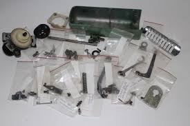 vintage green viking husqvarna sewing machine parts lot what u0027s