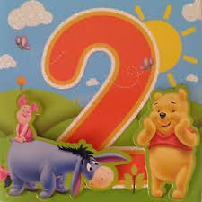 disney winnie the pooh age 2 birthday card handcrafted ebay