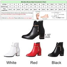 womens boots size 11 5 aliexpress com buy meotina winter boots heels ankle