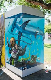 the shark tank art by destroy the shark tank