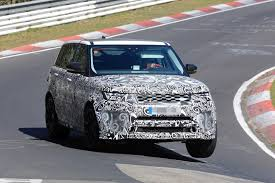 land rover track 2018 range rover sport svr shows production lights exhaust tips
