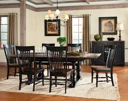 dining room table outstanding two tone dining table ideas two