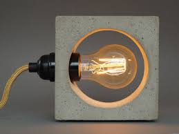 Crazy Lamps Concrete Lamps And Their Unexpected Warming Effect On Our Homes