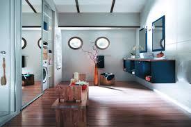 salle de bain de bateau une salle de bains bateau
