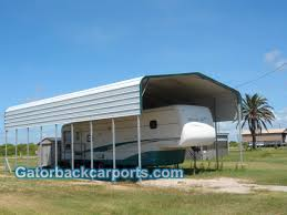 motorhome garages gatorback carports u2013 rv carports rv covers rv garages