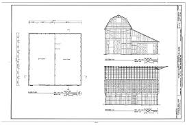 house barn plans floor plans file floor plan sections thomas murphy homestead barn