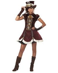 the halloween store spirit steampunk tween costume u2013 spirit halloween for hayley