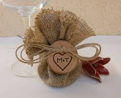 burlap favor bags wedding decoration favor bag burlap set of 150 269 00