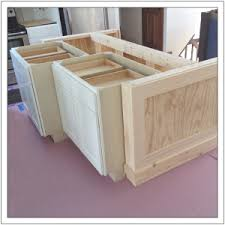 how to build a base for cabinets to sit on build a diy kitchen island build basic