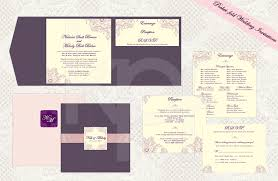 folded wedding invitations best of wedding invitation template pocketfold wedding