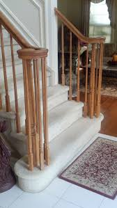 Replacing A Banister And Spindles Hardwood Floor Wholesale Installers Stair Contractor Nj New
