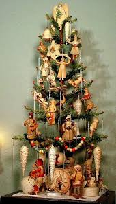 Vintage German Christmas Decorations by 365 Best Feather Trees And The Like Images On Pinterest