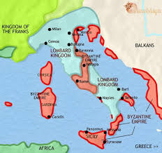 italy map map of italy at 750ad timemaps