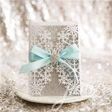 snowflake wedding invitations exquisite snowflake laser cut wholesale wedding invitations