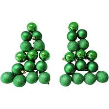 buy time 50mm green notes shatterproof ornaments 30 count