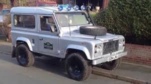 custom land rover defender land rover defender 90 custom silver 200tdi youtube