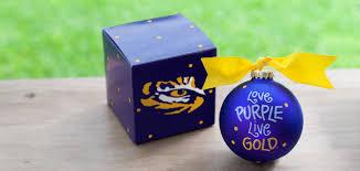 lsu ornaments invitation template
