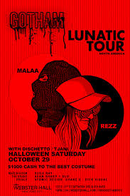 Tickets For Halloween At Gotham Ft Malaa Rezz Webster Hall At