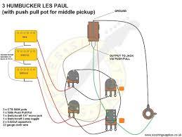 six string supplies u2014 3 humbucker les paul wiring