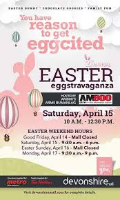 easter eggtravaganza hits devonshire mall