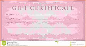 gift voucher template candle birthday gift certificate template