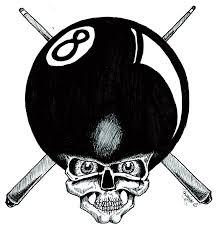 8ball skull by designbyry on deviantart