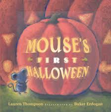 spirit halloween hr mouse u0027s first halloween book by lauren thompson buket erdogan