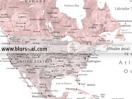 World Map Cuba by Dusty Pink And Grey Printable Watercolor World Map With Cities