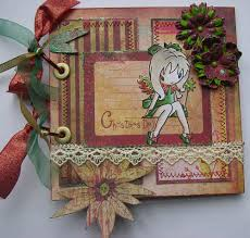 handmade photo album ooak handmade christmas day fairy scrapbook photo album memory book