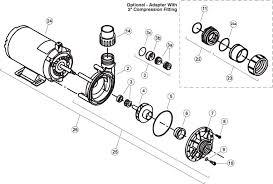 aquaflo flo master fmhp series side discharge spa pump
