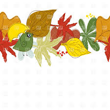 row of leaves clipart clipartxtras