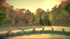 Hunger Games Minecraft Map Minecraft Hunger Games The Overgrown Arena Youtube