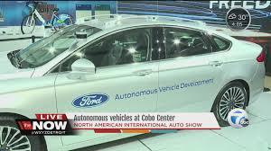 autonomous vehicles at the detroit auto show youtube