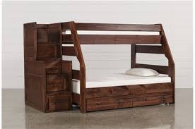 Bunk Beds And Loft Beds For Your Kids Room Living Spaces - Wooden bunk beds with drawers