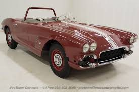1962 corvette pics 1961 1962 corvettes cars from proteam