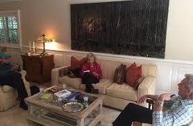 Fau Livingroom Busy Times For Silvin Books Fau Boca Mizner Fountain Dedication