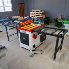 under table cut off saw pneumatic mj274b woodworking machinery