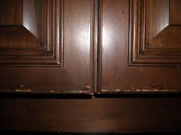 how to fix kitchen cabinets cabinet door finish failure diagnosis and repair