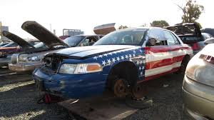 2004 ford crown victoria american flag edition u2013 junkyard find