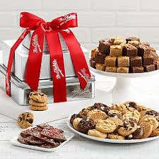 mrs fields gift baskets christmas cookie gift baskets cookie tins delivery mrs fields