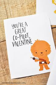 wars valentines day cards wars s day cards for kids free printable and