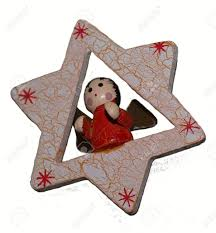 christmas decorations star angel wooden christmas toy