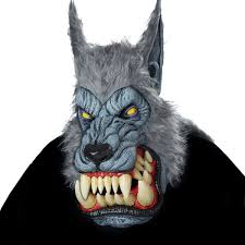 wolf mask motion jaws lunar wolf mask