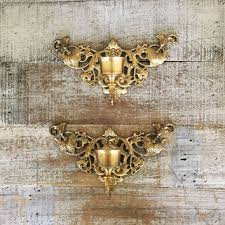 Wall Mounted Candle Sconce Shop Brass Candle Sconces On Wanelo